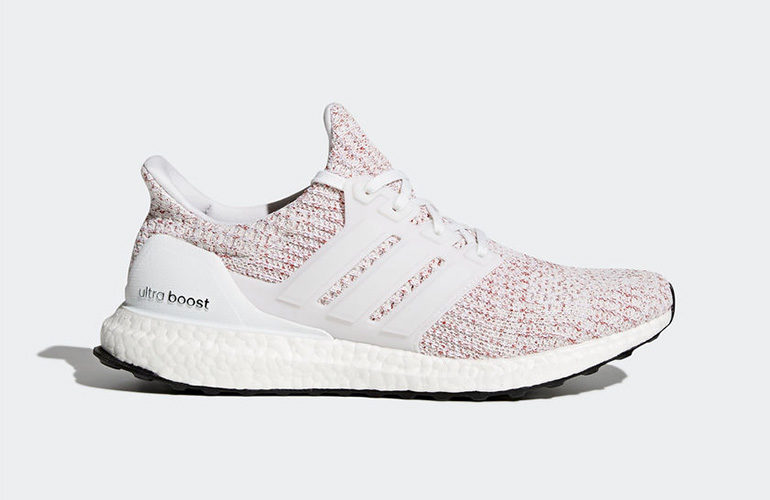 9b3504350d0 adidas Ultra Boost 4.0 – White Scarlet