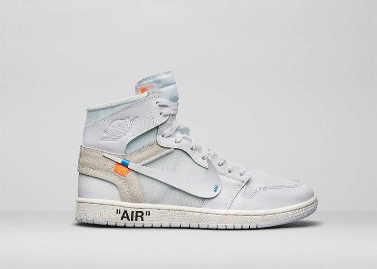 7129d160156 Off-White x Nike Air Jordan 1 High OG NRG – White