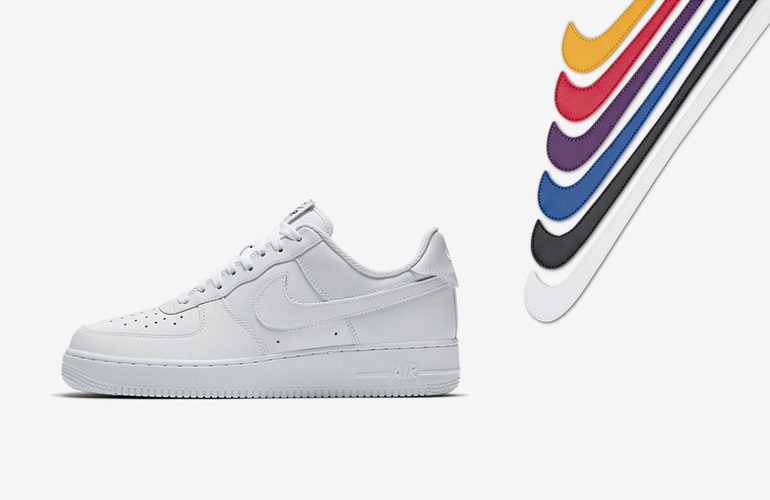 Cosquillas montón apetito  Nike Air Force 1 – White Swoosh Flavors | sneakerb0b RELEASES
