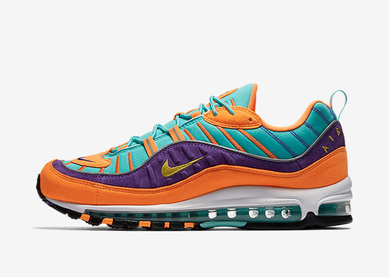 Nike Air Max 98 – Cone Tour Yellow | sneakerb0b RELEASES