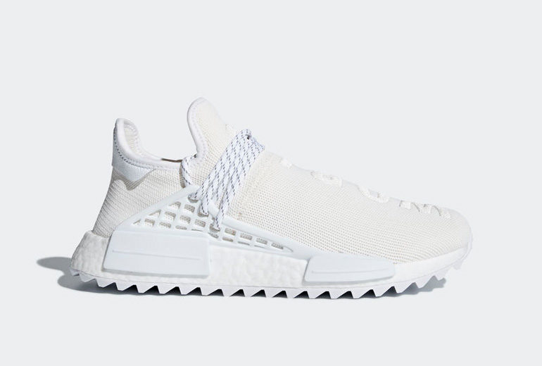 huge discount 9455d d240f Pharrell Williams x adidas NMD Human Race TR – Blank Canvas  sneakerb0b  RELEASES