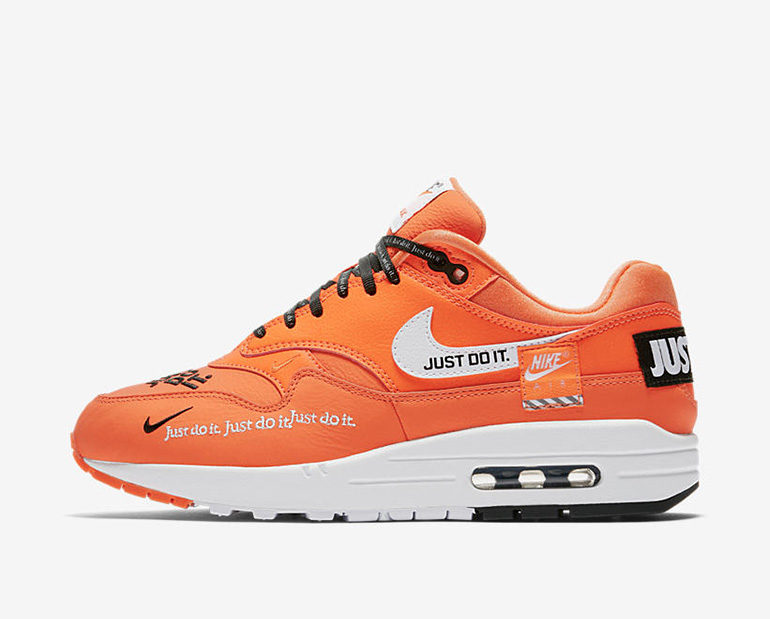 Nike WMNS Air Max 1 – Orange JUST DO IT | sneakerb0b RELEASES