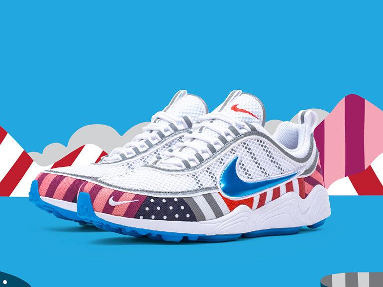 b04e06126232 Parra x Nike Zoom Spiridon