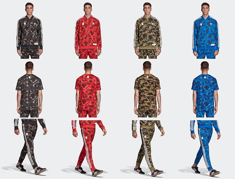 BAPE x adidas Originals Jacke Olive Cargo DP0183 | Schuh