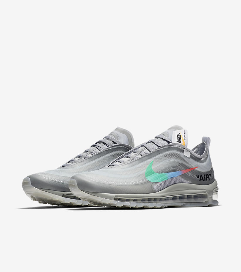 new product 8764e 8df6f Off-White x Nike Air Max 97 – Grey Menta