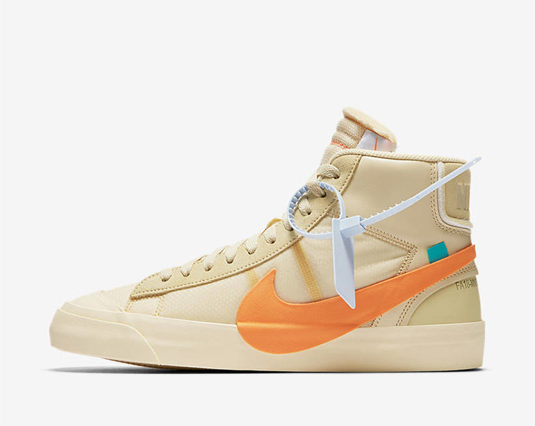 45d19df396c110 Off-White x Nike Blazer Mid – All Hallows Eve | sneakerb0b RELEASES