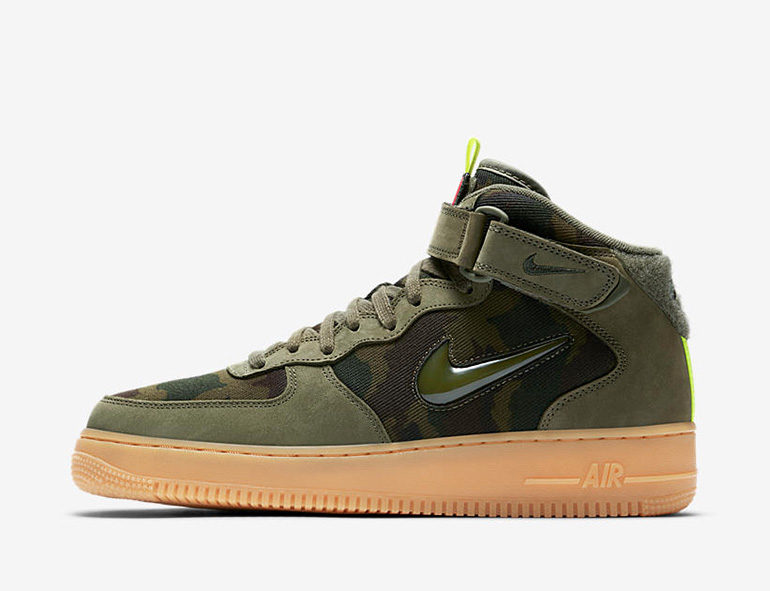 Nike Air Force 1 Mid Jewel – Country Camo France