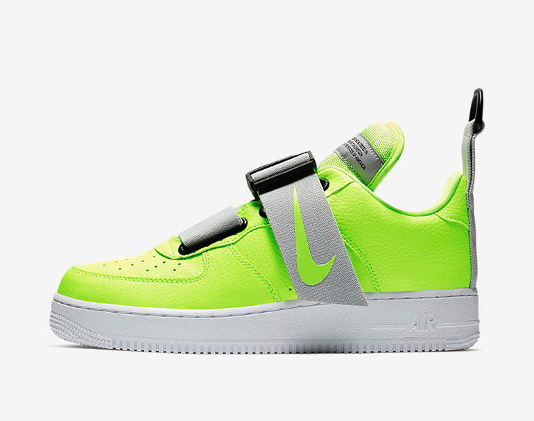 pretty nice 5325c a355e Nike Air Force 1 Utility – Volt   sneakerb0b RELEASES
