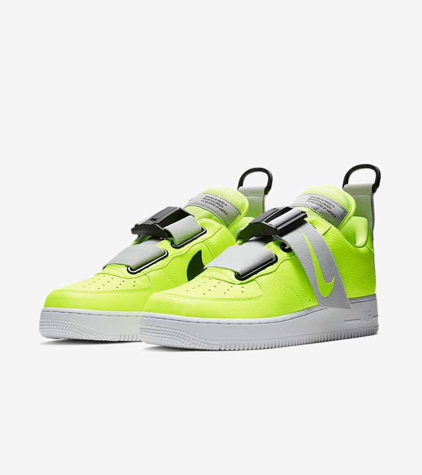 online retailer 10d3c 2e8d1 Nike Air Force 1 Utility – Volt