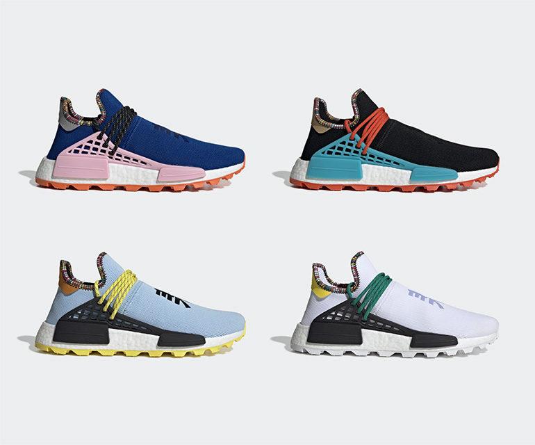 buy online c6cb8 0fdf4 Pharrell Williams x adidas Hu NMD – Inspiration Pack ...