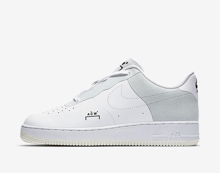 big sale 007a4 7f334 A-COLD-WALL x Nike Air Force 1 Low – White