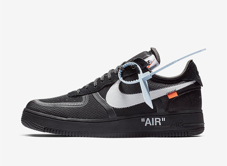 on sale e56d8 da6ec Off-White – Nike Air Force 1 Low – Black  sneakerb0b RELEASE