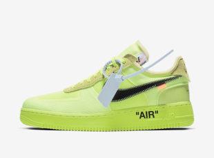 pretty nice b1aae 8b265 Off-White – Nike Air Force 1 Low – Volt