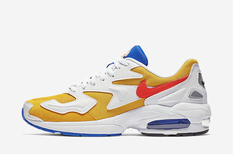 e0d38fda1411b7 Nike Air Max 2 Light – University Gold