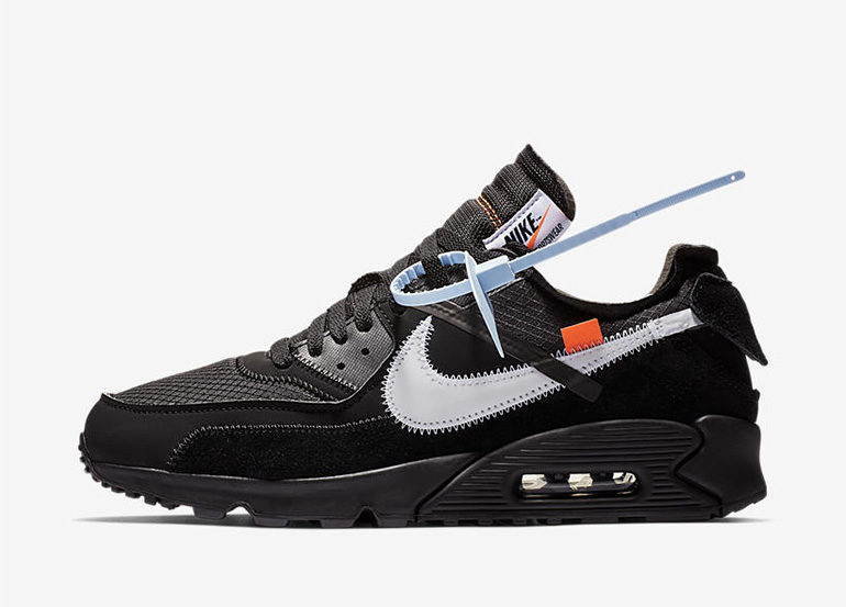 more photos bfd3c 8bb26 Off-White x Nike Air Max 90 – Black