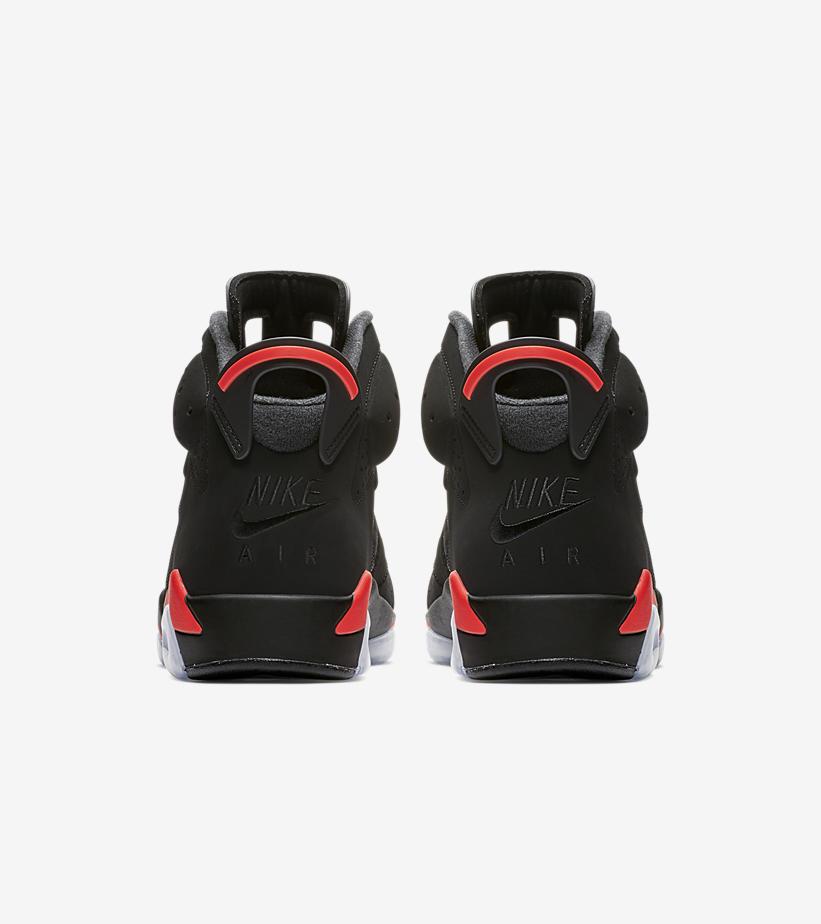 timeless design b6bae 06a0e Air Jordan 6 Black Infrared 2019 Retro