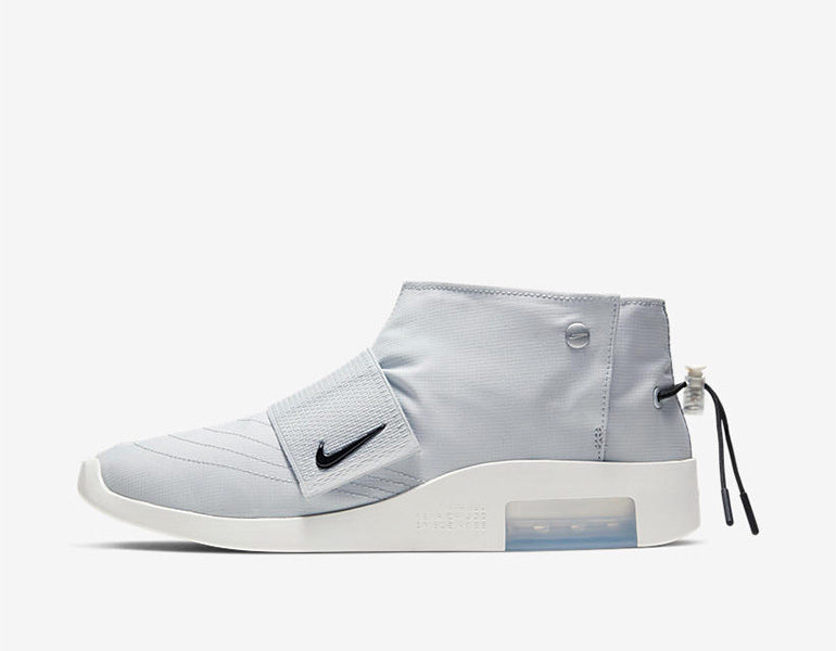 950140f8777d1 Fear of God x Nike Air Moc – Pure Platinum