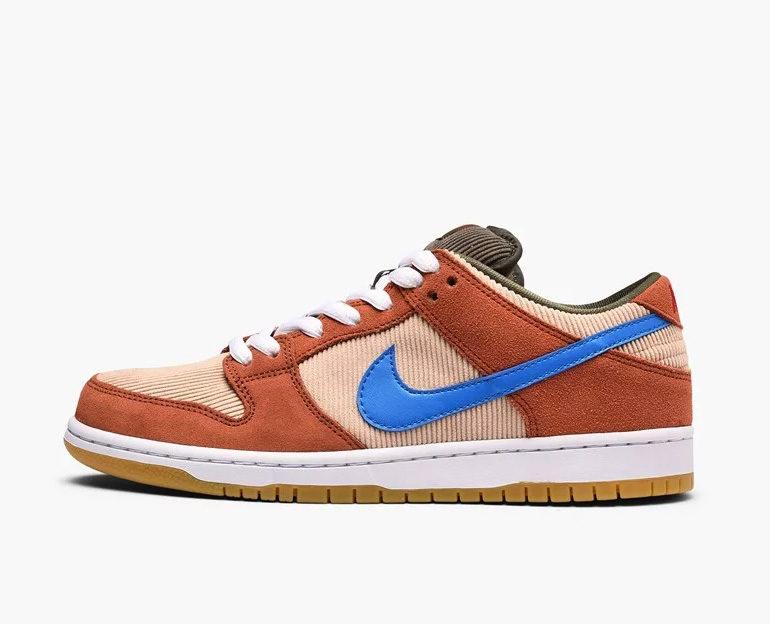 huge discount 1c494 9f5f3 Nike SB Dunk Low – Corduroy Dusty Peach