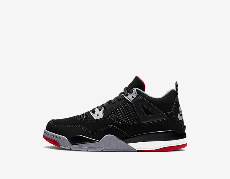 567da9bde5ea0a Air Jordan 4 PS – Bred