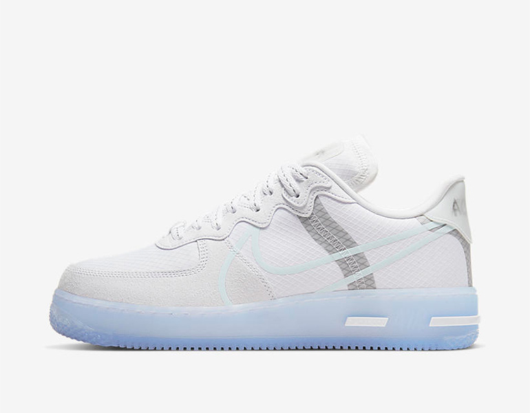 Nike Air Force 1 React – White Ice | sneakerb0b RELEASES