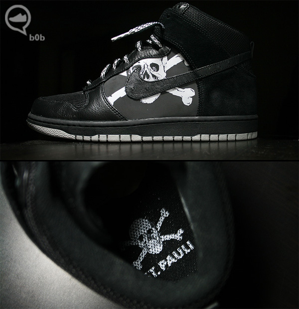 Nike Dunk High x St. Pauli