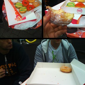 Dunkin Donuts Action...