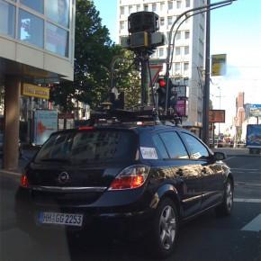 Google Streetview in Köln
