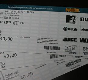 Kanye West in Oberhausen...