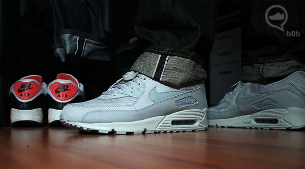 wear all grey nike air max