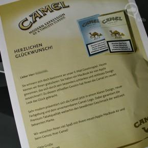 camel gewinnspiel macbook air