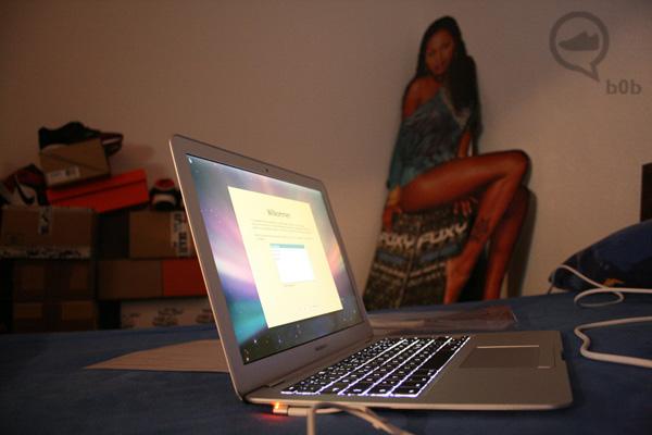 mac book air start