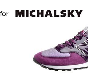 New Balance for Michalsky