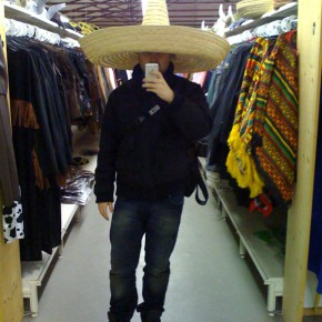klein mit Hut...