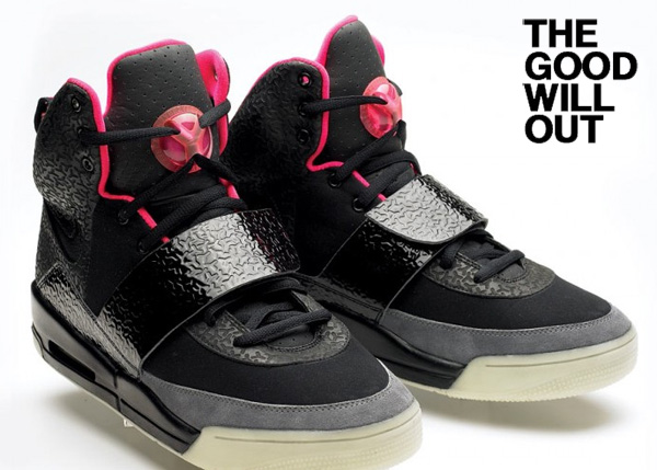 air yeezy the good will out