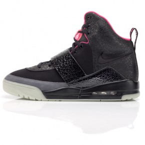 nike air yeezy black