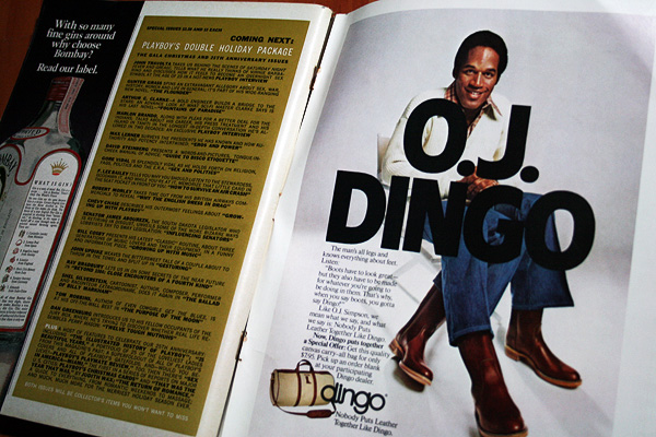 playboy oj simpson dingo