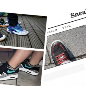 Girls with sneakers...