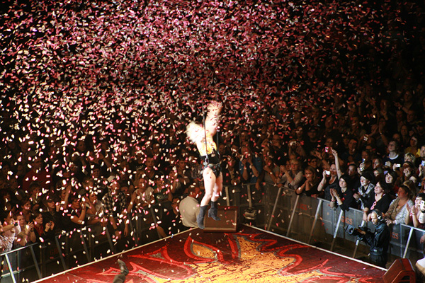 Pink Konzert Ende
