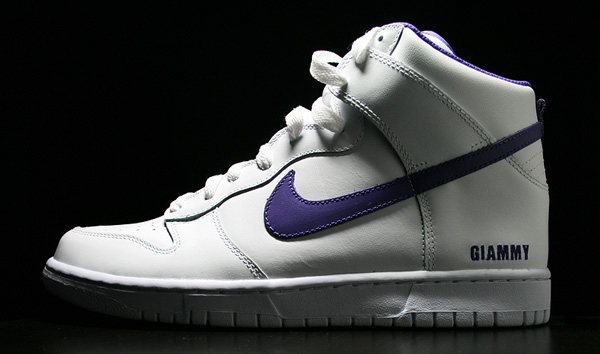 Nike ID DUNK white purple