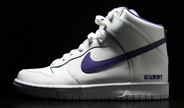 Nike ID DUNK white purple