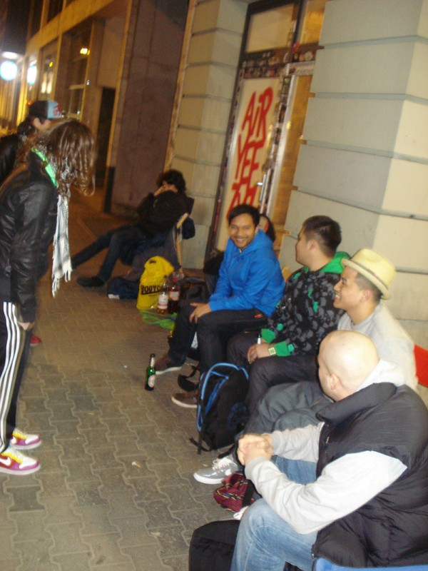 nort berlin camp out