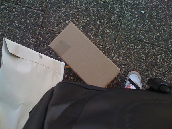 post wegbringen