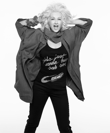 cyndi lauper for H&M