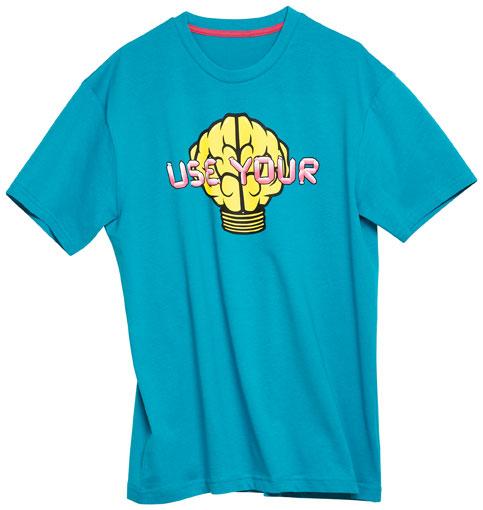 fashion against aids nerd shirt