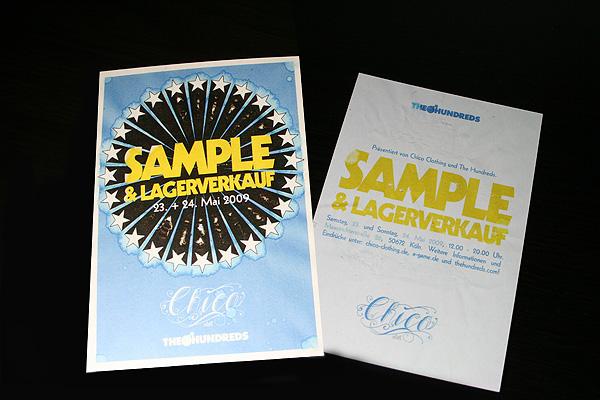 the hundreds sample sale