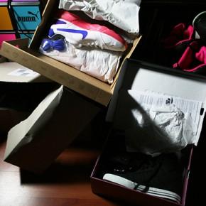 Wieder mal Schuhe in der Post...