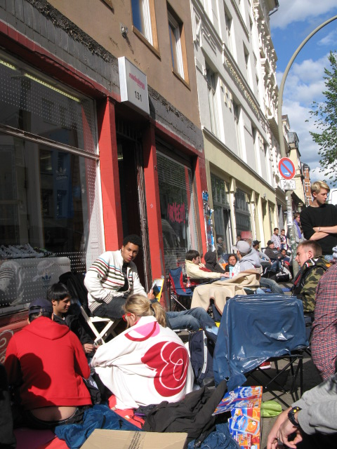 Air Yeezy release in Hamburg