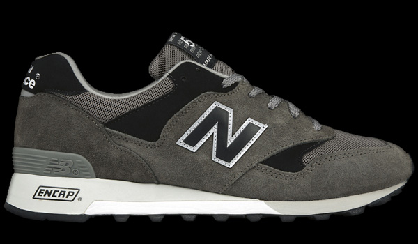 new balance 577 grey black