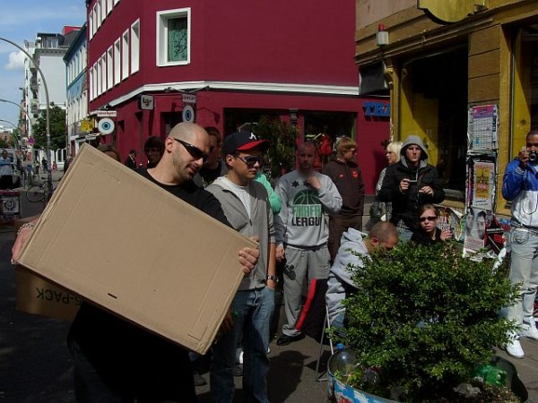 Air Yeezy release in Hamburg bei sneakology