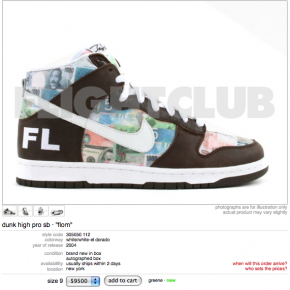 nike dunk flom or sale
